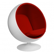 Кресло Eero Aarnio Style Ball Chair Red