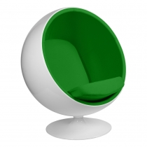 Кресло Eero Aarnio Style Ball Chair Green