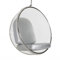 Кресло Eero Aarnio Style Bubble Chair Silver