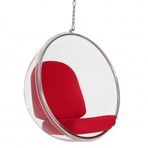 Кресло Eero Aarnio Style Bubble Chair Red