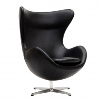 Кресло Arne Jacobsen Style Egg Chair Black